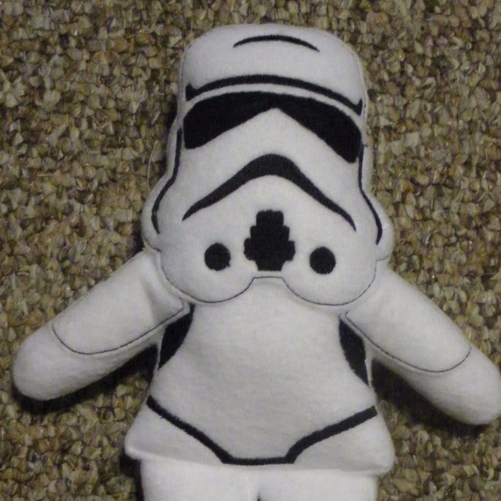 STORMTROOPER DOLL PATTERN