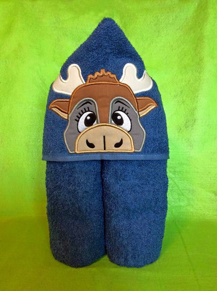 5x7 SVEN REINDEER FOR HOODED TOWEL