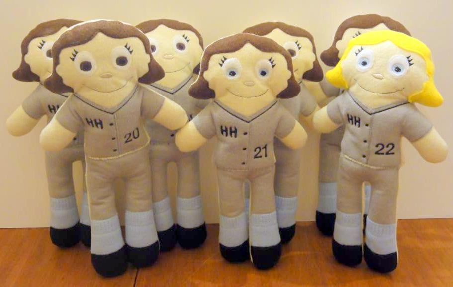 SOFTBALL GIRL DOLL PATTERN