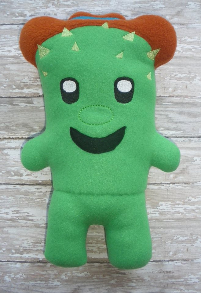 TOBY CACTUS DOLL PATTERN