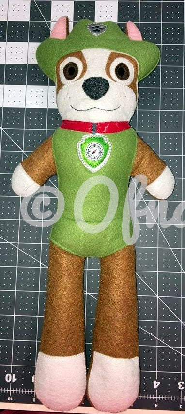 TRACKER PAW PATROL DOLL PATTERN