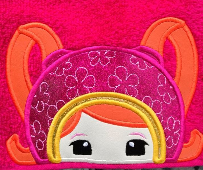5X7 UMIZOOMI MILLI HEAD FOR HOODED TOWEL