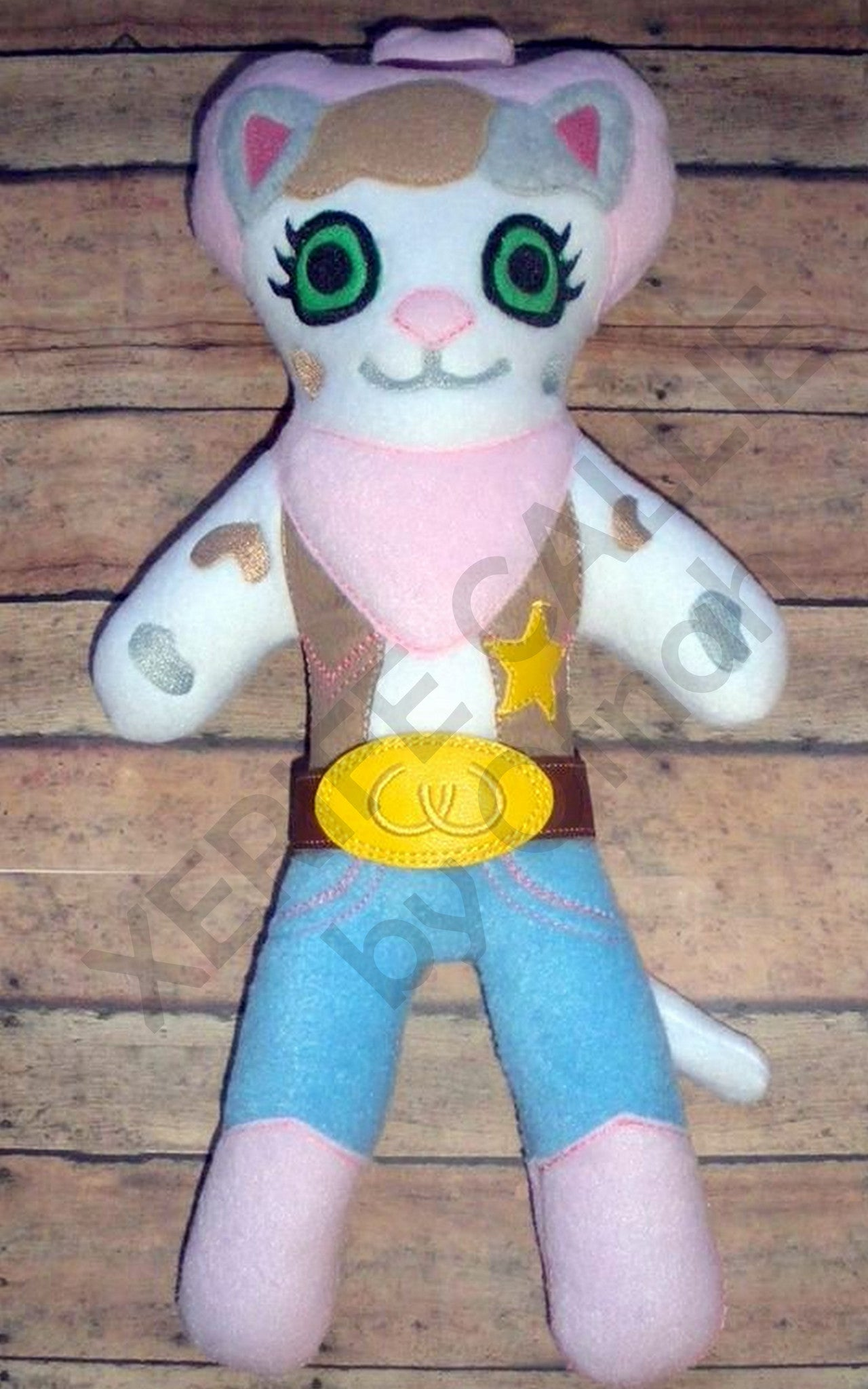 SHERIFF CALLIE DOLL PATTERN