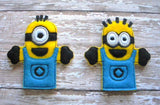 MINION FINGER PUPPET PATTERNS (SET)