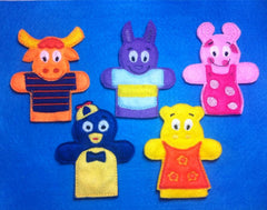 BACKYARDIGANS FINGER PUPPET PATTERN SET