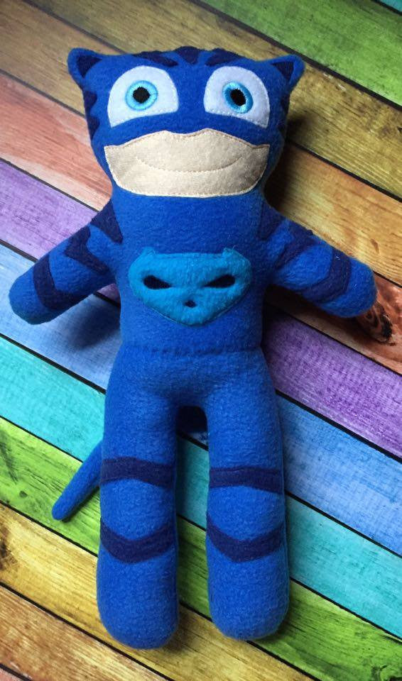 PJ HERO CAT BOY DOLL PATTERN