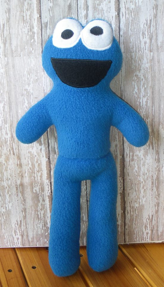 COOKIE MONSTER DOLL PATTERN