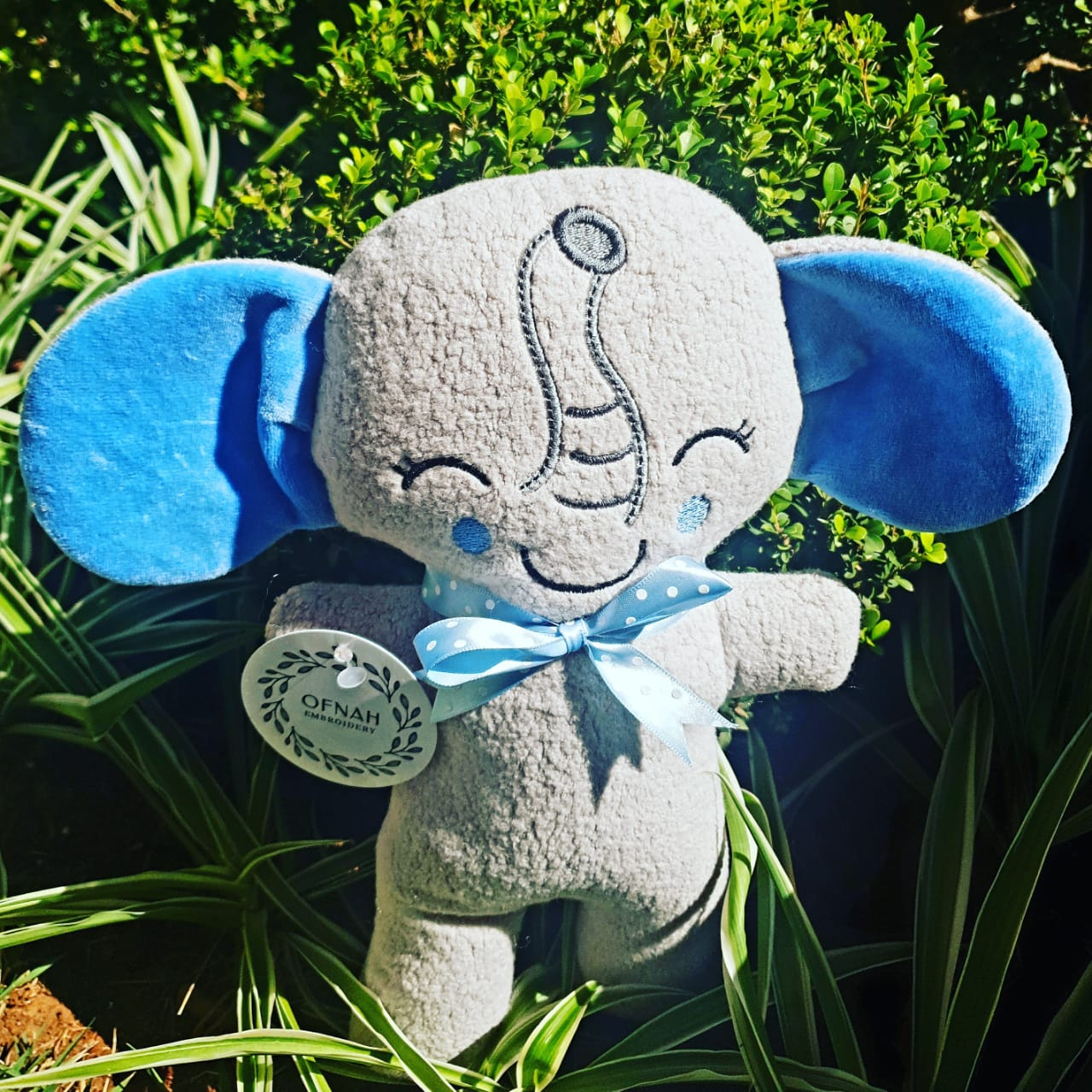 ITH ELLY PHANT PLUSHIE PATTERN