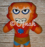 BEAST MAN DOLL PATTERN
