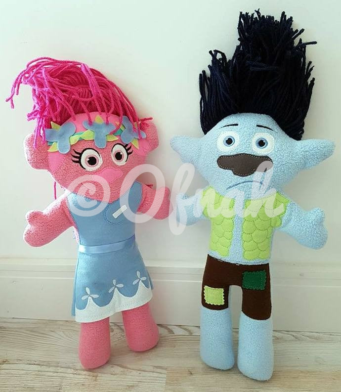 PRINCESS TROLL DOLL PATTERN