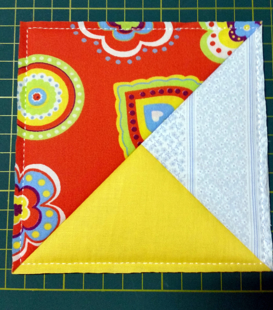 ITH QUILTING BLOCK # 9 DOUBLE PINWHEEL