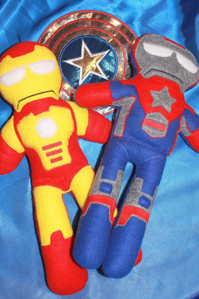 IRONMAN DOLL PATTERN