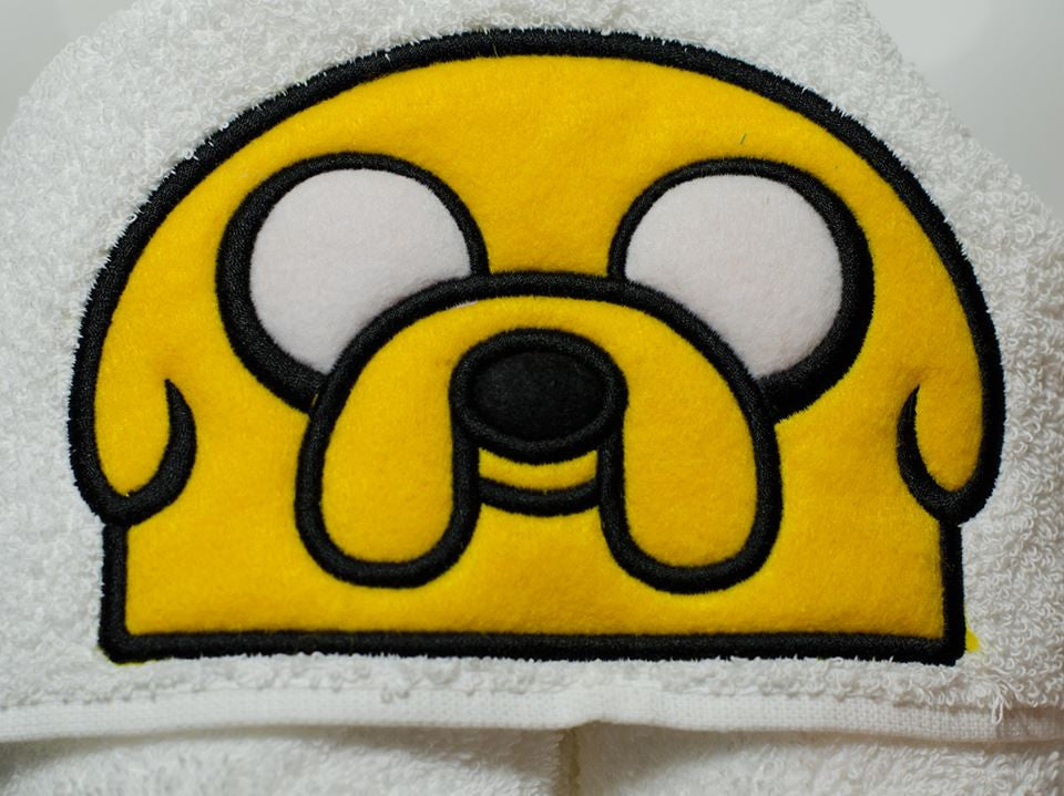 5x7 JAKE THE DOG HEAD FOR HOODED TOWEL