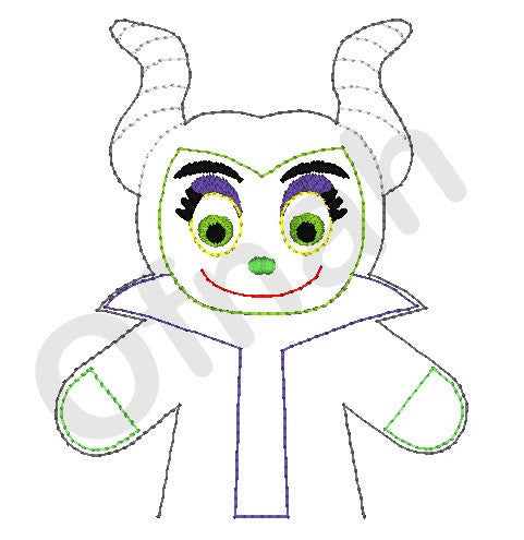 MALEFICENT DOLL PATTERN