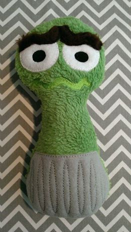 OSCAR THE GROUCH RATTLE PATTERN