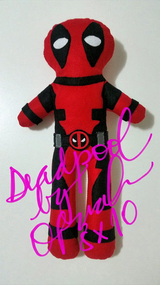 DEADPOOL DOLL PATTERN