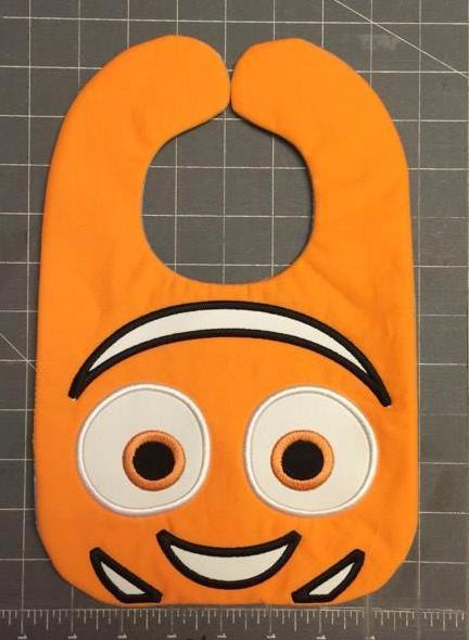 CLOWN FISH BIB