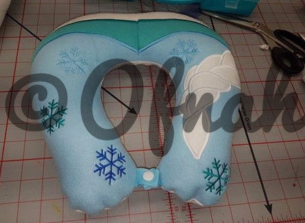 6X10 AND 8X12 ELSA NECK PILLOW