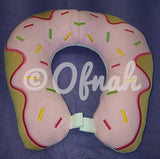 6X10 & 8X12 DOUGHNUT NECK PILLOW