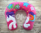 6X10 & 8X12 UNICORN NECK PILLOW