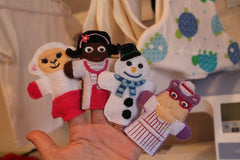 DR MCSTUFFIN FINGER PUPPETS SET PATTERNS