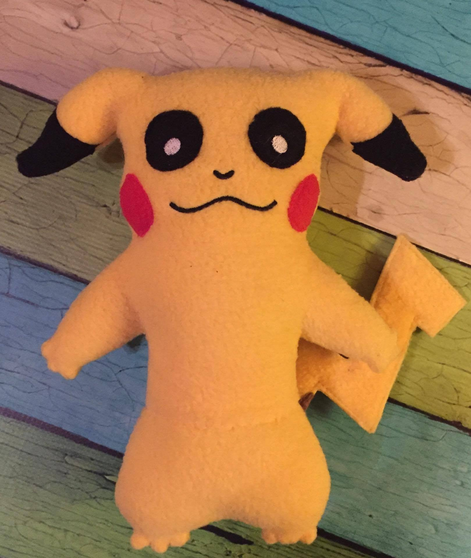 PIKACHU POKEMON DOLL PATTERN