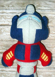 BLUE TRANSFORMER DOLL PATTERN