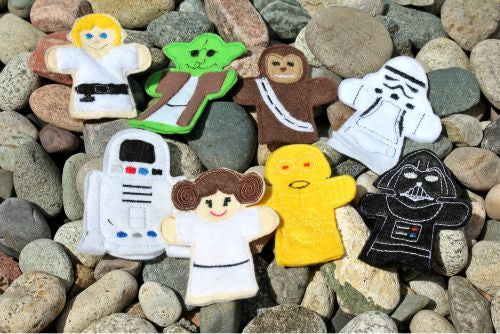 STAR WARS FINGER PUPPET SET