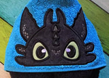 5x7 TOOTHLESS HEAD FOR HOODED TOWEL