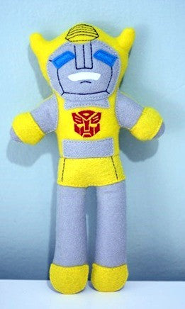 YELLOW TRANSFORMER DOLL PATTERN
