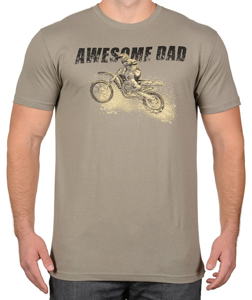 755a0bf21 Awesome Dad Dirt Bike Riding T-Shirt