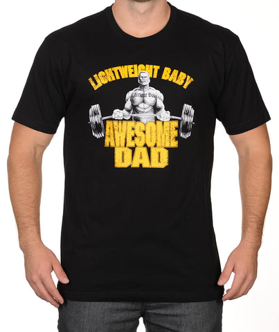 3028e40c Awesome Dad Light Weight Baby/Body Builder T-Shirt