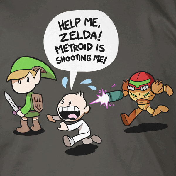 Help Me Zelda, Metroid is Shooting Me