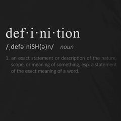 Definition of Definition