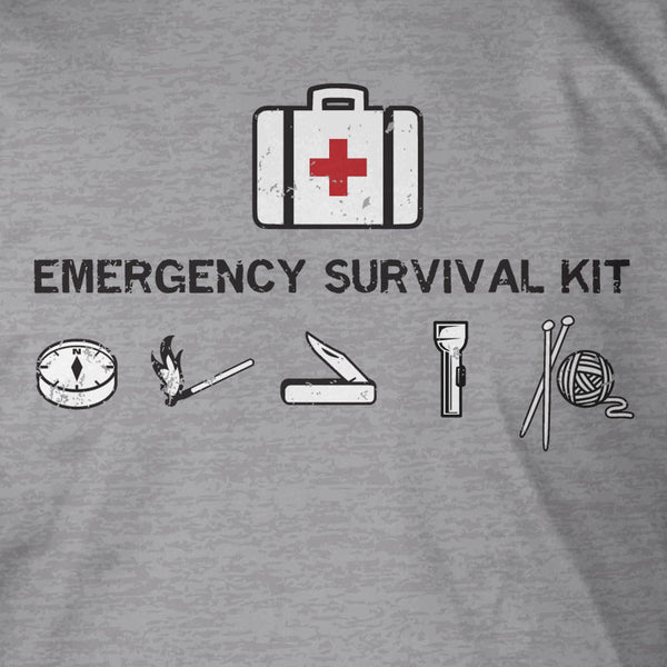 Emergency Survival Kit (Grey)