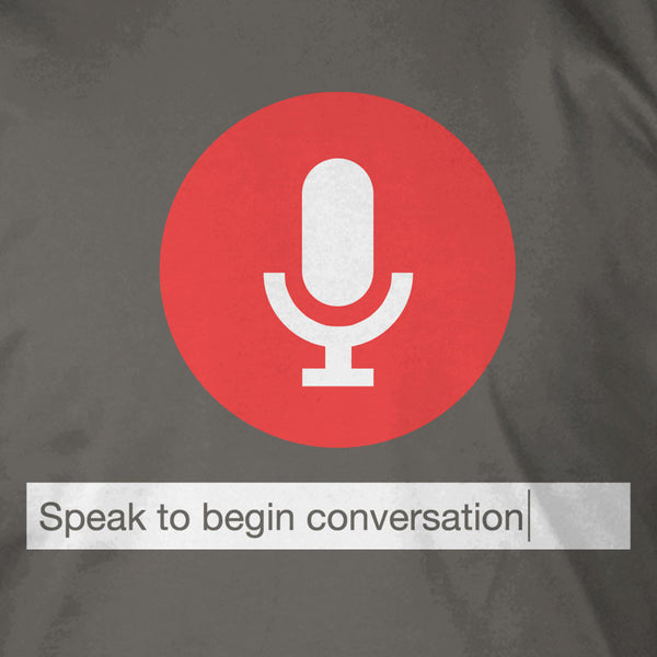 Speak to Begin