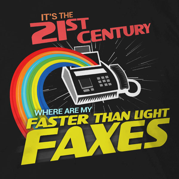 Faster Than Light Faxes