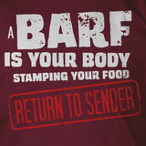 Return to Sender Barf