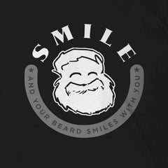 Smile and Your Beard Smiles With You