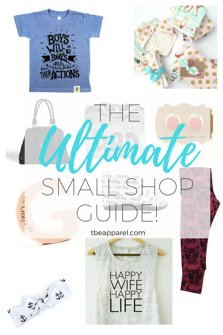 The ULTIMATE Small Shop Guide (Over 50 of the BEST small shops!)