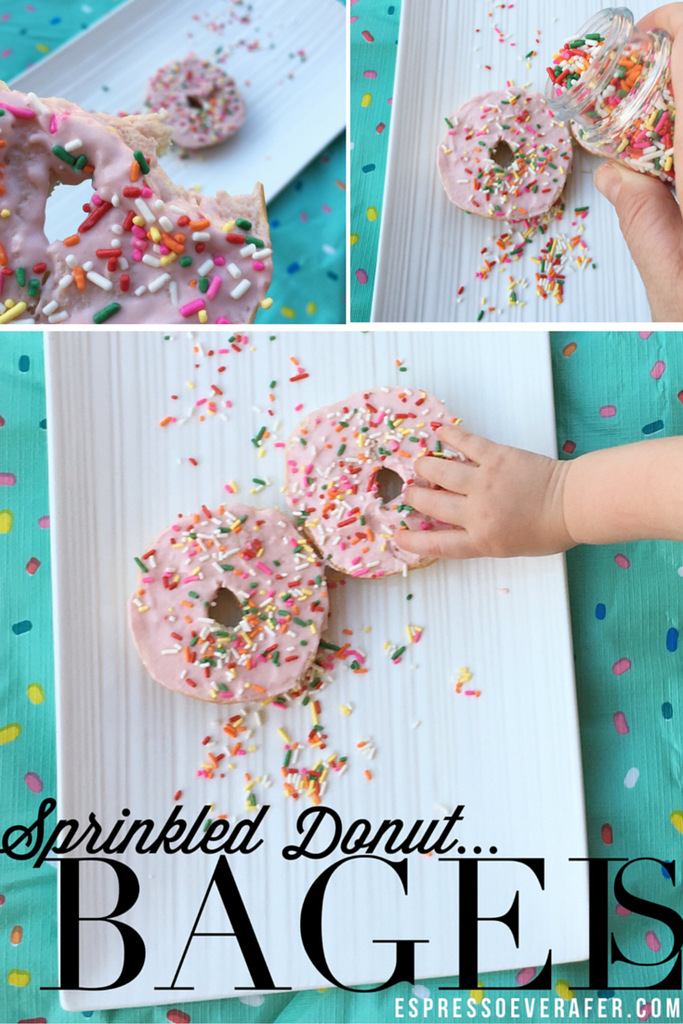 Sprinkled Donut Bagels!