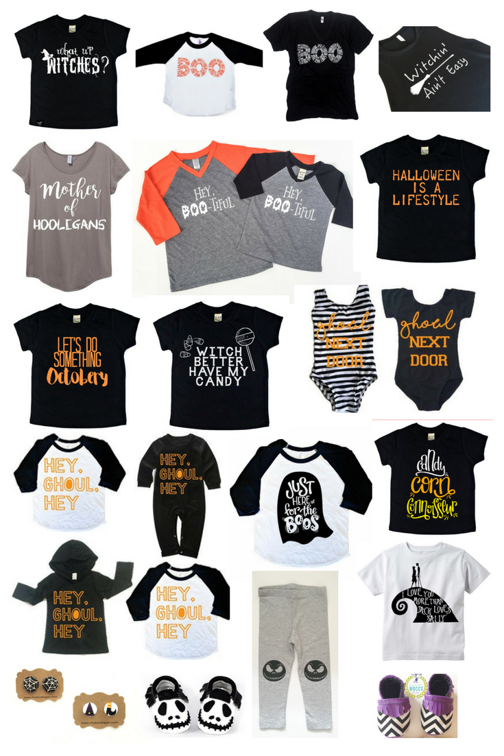 A Small Shop Guide: The Cutest Halloween Clothing For Kids and Moms