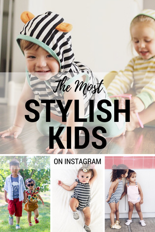 The Most Stylish Kids On Instagram