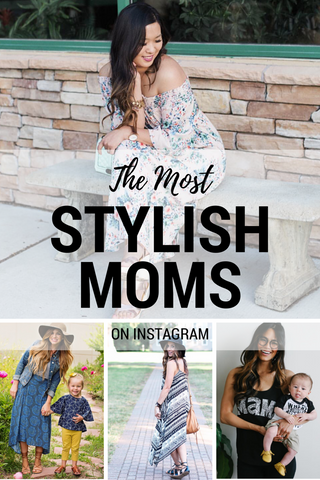 The Most Stylish Moms on Instagram