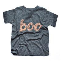 Boo kids black + orange