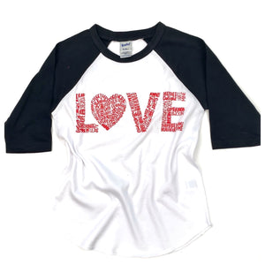 Love Kids Raglan