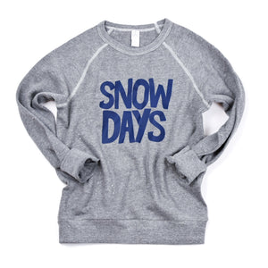 Snow Days - Kids Sweatshirt