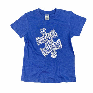 Autism Awareness Puzzle Tee Kids