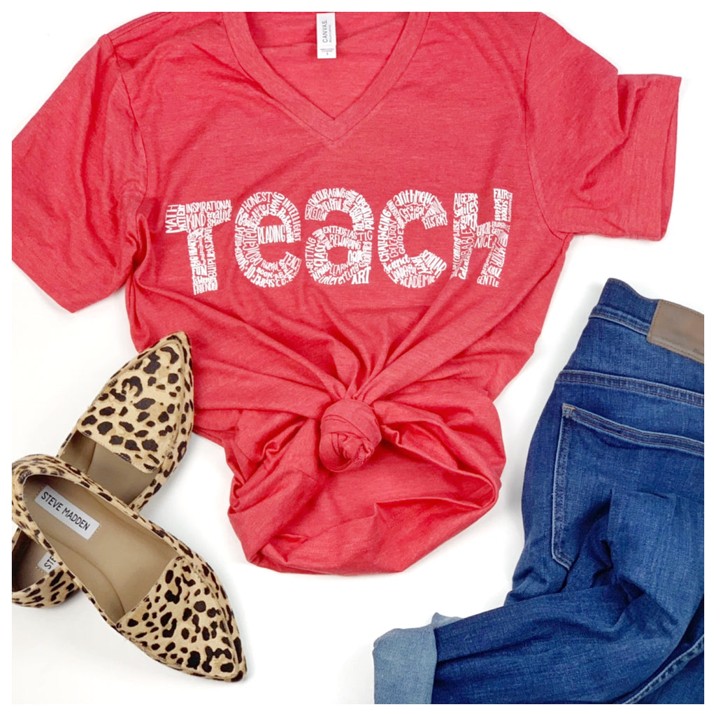 Teach Tee (multiple color options)