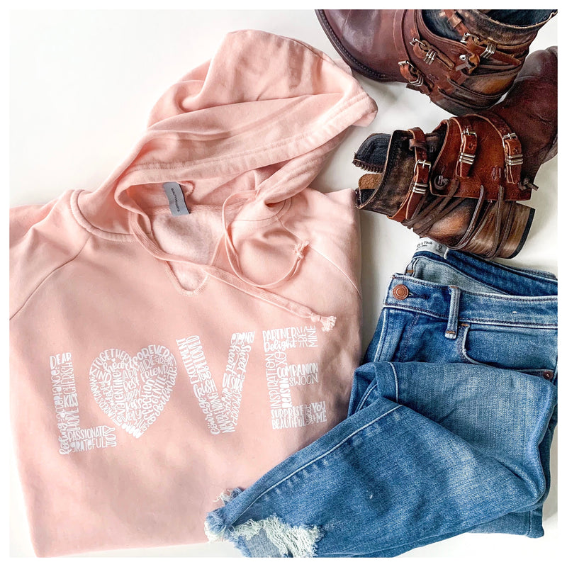 Love Lightweight Hooded Pullover